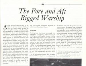 Rigging Warship
