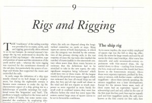 Rigs and Rigging