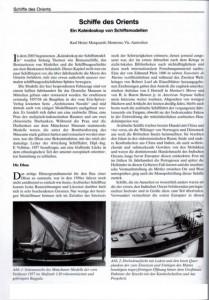 Schiffe des Orients
