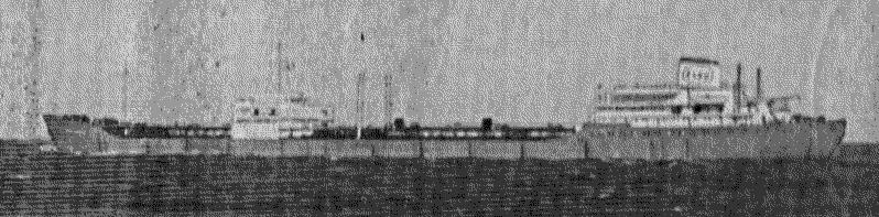 Abb. 14 T/T Esso Berlin beim Auslaufen