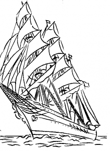 Abb. 4 US-Coast Guard Adler (nach einem Revell-Bausatz)