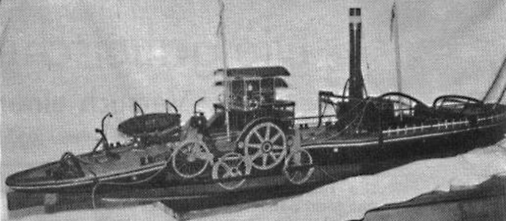 Abb. 10 Tauer 7, Tauereischlepper aus dem 19. Jahrhundert vom Rhein (1954)