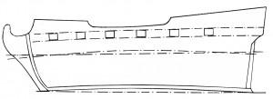 """Abb. 31 Das """"Rückenaufstechen"""" eines Schiffs"""