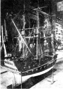 Abb. 1 Das umstrittene Modell vor seiner letzten Renovierung im Jahr 1951