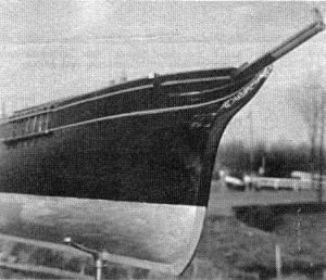 Abb. I-5 Bugverzierung des Original-Halbmodells aus dem Morgenstern-Museum