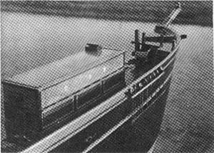Abb. I-6 Steuerbord-Ansicht des Bremerhavener Theone-Modells mit Blickrichtung nach vorn