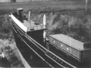 Abb. I-7 Steuerbord-Ansicht des Bremerhavener Theone-Modells mit Blickrichtung nach achtern