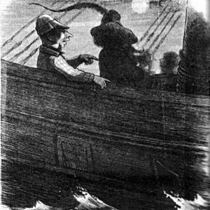 Abb. II-4 Nacht an Bord