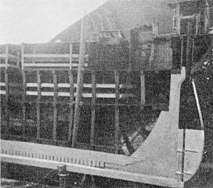 Abb. 3 Theone-Modell aus dem Morgenstern-Museum; Schnittseite achtern mit Heckdetails