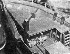Abb. III-4 Theone-Modell aus dem Focke-Museum, Bremen; Nachbau von Battry Back; Schnittseite vorn