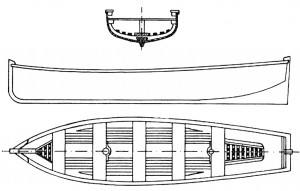 Abb. IV-12 Langboot