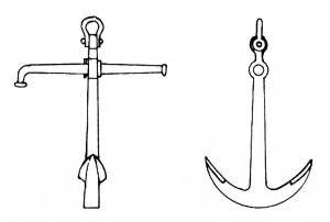 Abb. IV-13 Stockanker