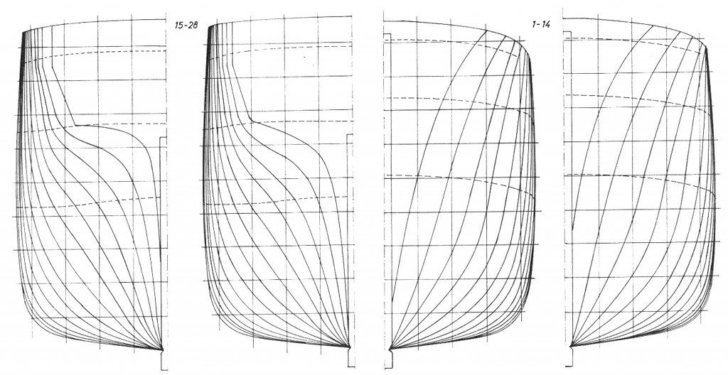 Tafel II Spantriß (aus Me. 5/67, S. 194—195)