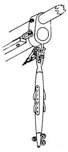 Abb. V-3 Eselshaupt mit Stampfstock