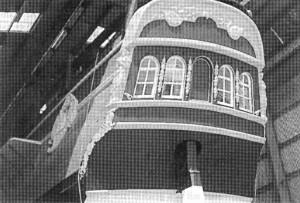Abb. 8: Der Spiegel des ENDEAVOUR Nachbaus. Photo B. Haddock